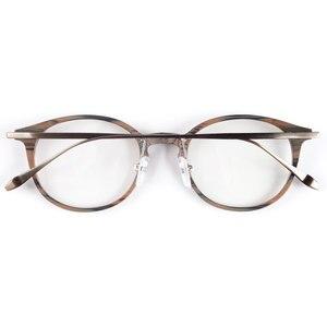 Image 2 - En iyi kalite ahşap şerit titanium gözlük çerçeveleri reçete gözlük veya dekorasyon