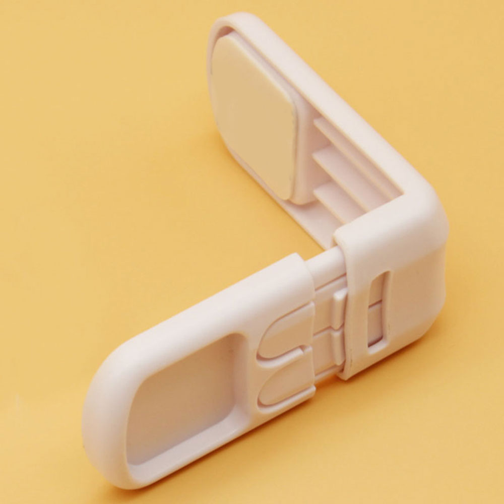Замок холодильника блокирующий замок для шкафа ребенка замок безопасности ABS младенцу шкаф Творческий ящики, Холодильник Защёлки