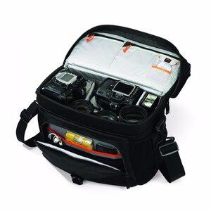 Image 3 - Sıcak satış hakiki Lowepro Nova 200 AW basit omuz çantası kamera çantası kamera çantası almak için kapak