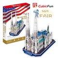 Стерео пазлы 3d бумаги [святой барт модель в церкви/Замок Нойшванштайн, Герма] дети развивающие игрушки P2