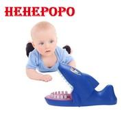 למכירה במלאי חדש צעצועים מסובך אצבע נשיכה כריש כחול חיות ים מצחיק גאדג 'טים בדיחות פה רופא שיניים מודל ילדים של הילדים מתנה