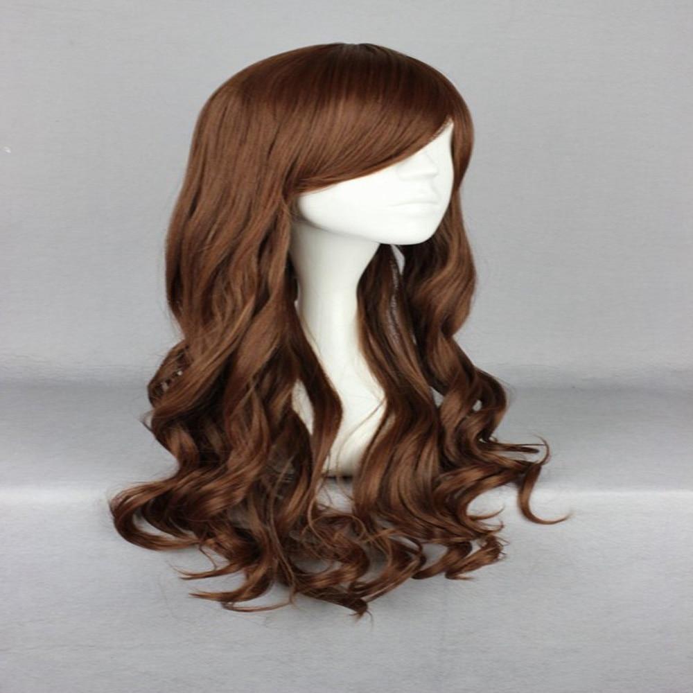HAIRJOY Synthetic Hair Zipper 70cm Long Wavy Harajuku Lolita Cosplay Wig 18 Colors Available 82