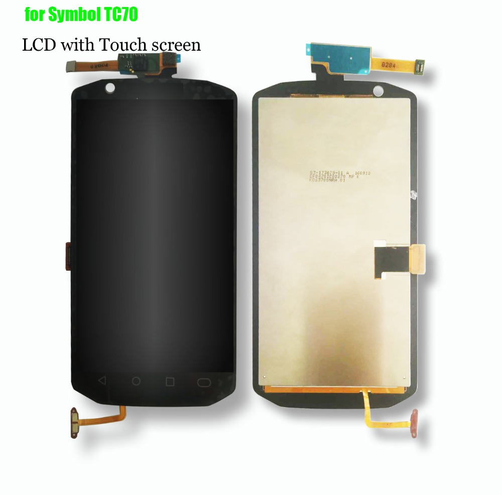 100% Test OK Original New LCD Display with Touch screen Digitizer for Symbol TC70 TC 70 PDA LCD screen Touch panel Assembly original new for htc 828 lcd display touch panel screen digitizer assembly replacement parts fast delivery with tools
