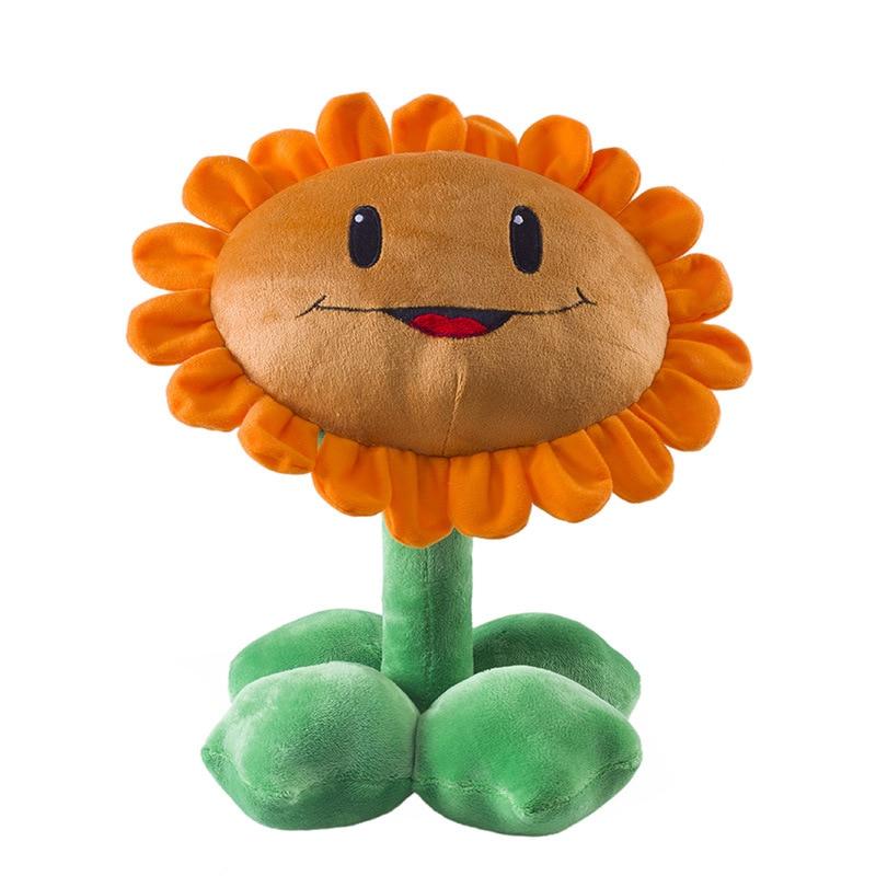 30cm Plants vs Zombies Plush Toys PVZ Plants Peashooter Squash Sunflower  Plush Stuffed Toys Doll Gifts for Kids Children
