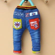 High quality spring new fashion baby boys jeans children denim pants kids trousers 2 3 4