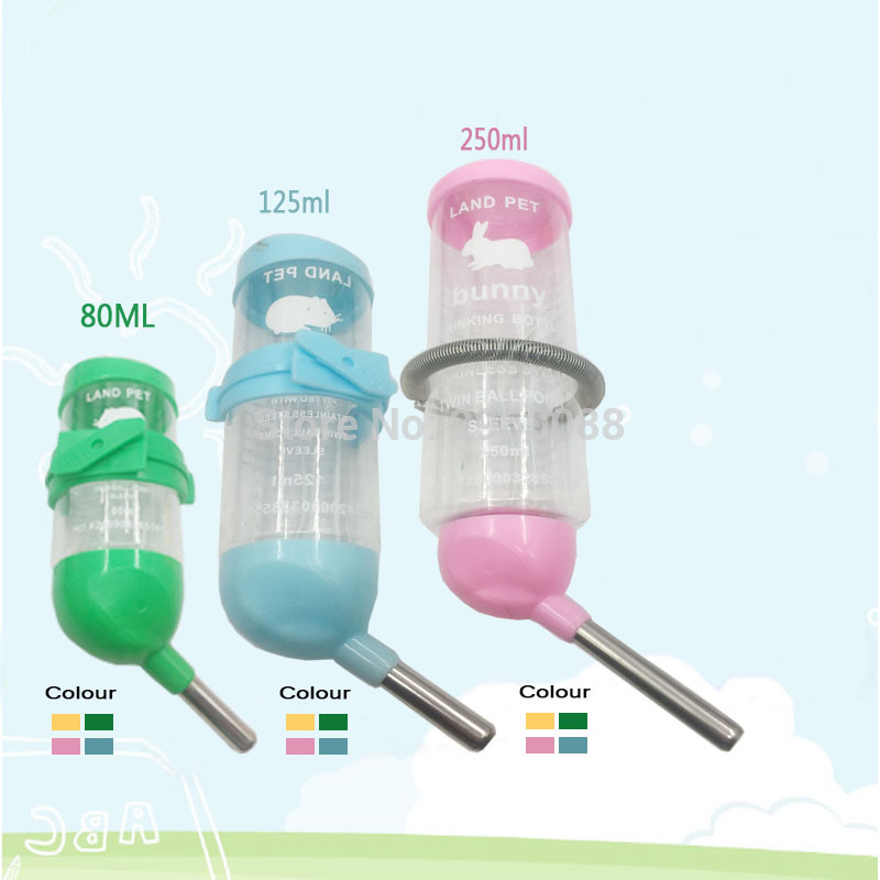 2018 Newly Launched Pets Leak-proof Water Bottle Automatic Drinking Device Kettle Dispenser Hamster Feeding Products small pets