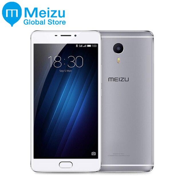 """Оригинал Meizu M3 макс 3 ГБ 64 ГБ MTK helio P10 Octa core Android 4 г LTE 6.0 """"1080 P 13.0 МП Камера оты глобальной прошивки S685Q"""