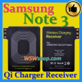 Qi Charger Receiver For Samsung Note 3 Use Imported IC Larger Bronze Coil Better Qi Wireless Charging Receiver For Galaxy Note 3