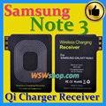 Qi charger receiver para samsung note 3 use importado ic maior bobina de bronze melhor qi carregamento sem fio receiver para galaxy note 3
