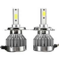 2x H4 H7 H8 H9 H11 9005 9006 COB LED Headlight Kit 30W 3000LM Car Bulb