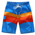New Summer style  trunks men casual Board Stripe shorts Beach swimwear short Men's SurfBoard Shorts 1519#