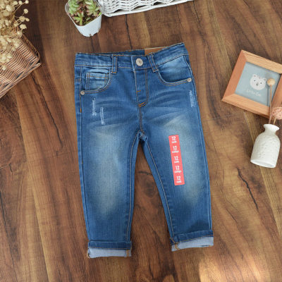 wholesale 2016 new girls jeans Hot Autumn Children's jeans boys and girls cotton Jeans