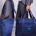 2016 Moda de Alta Qualidade Bolsa de Viagem Saco de Grande Capacidade Das Mulheres Saco de Nylon Dobrável Mulheres Bagagem Bolsas de Viagem À Prova D' Água