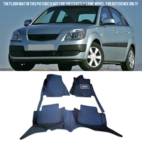Car Accessories Floor Mats Carpets Pad Pads Protective Liners For Kia Rio 2005 2006 2007 2008 2009 2010 2011