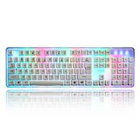 MOSUNX Futural Digital 1PC Color USB Gaming Keyboard LED Backlight Backlit Wired For Laptop F20