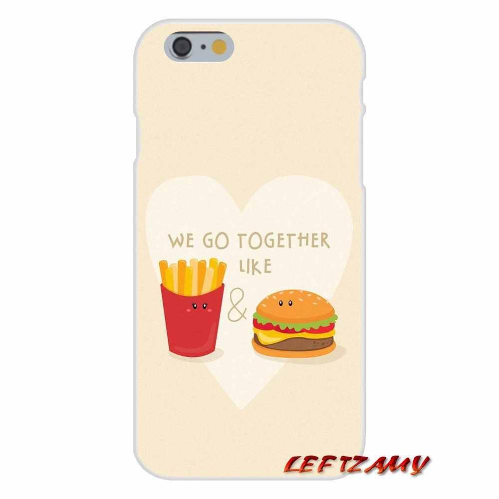 Coque Pour Samsung Galaxy J3 ( 2016 ) J320F Hamburger frites