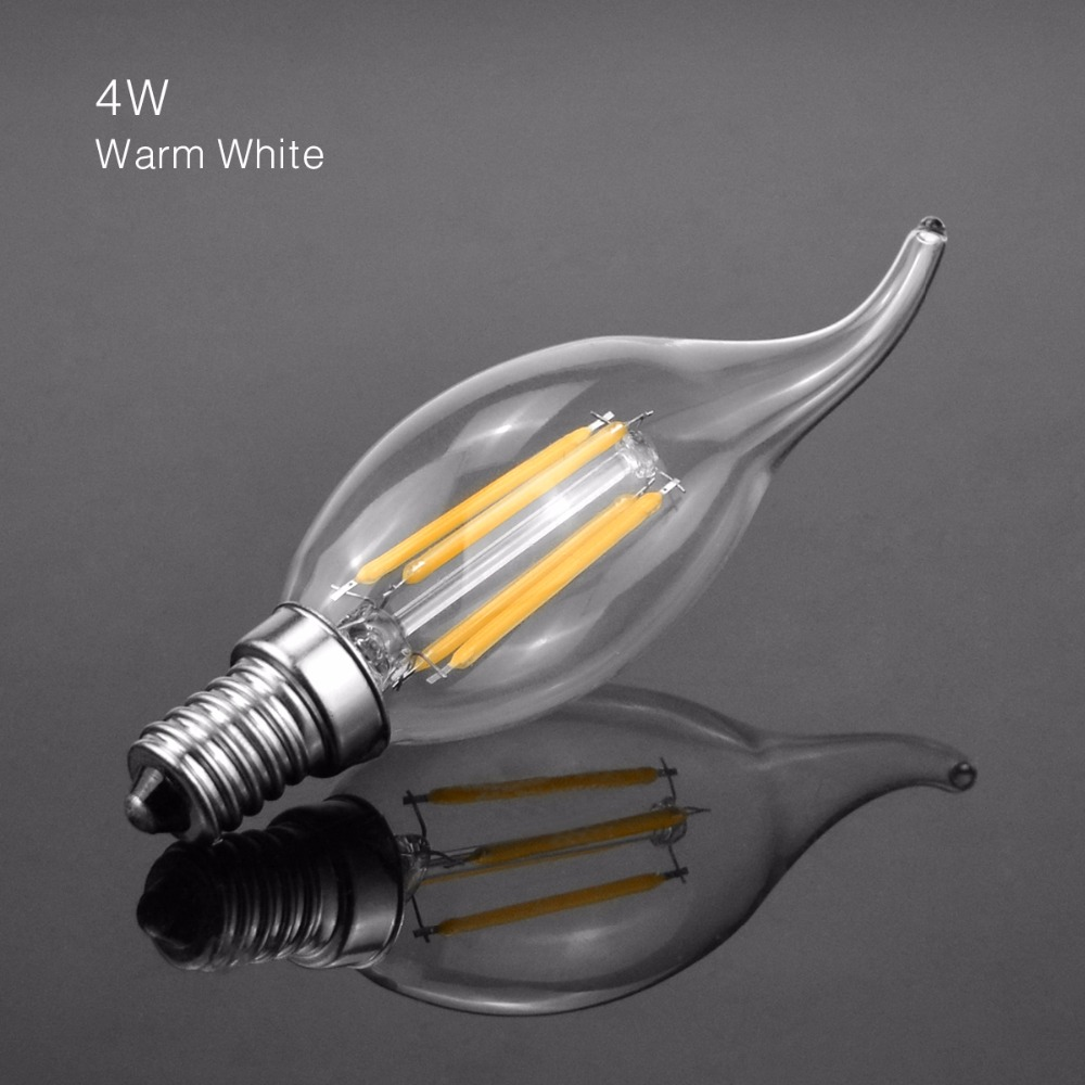 Led candle lamp e14 2w 4w 6w 110v 220v c35l retro led filament light led candle lamp e14 2w 4w 6w 110v 220v c35l retro led filament light chandelier lighting replace 20w 40w 60w incandescent bulb in led bulbs tubes from arubaitofo Image collections