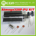 ATMEGA328P-ПУ БЕЗ-AR дуино BOOTLOADER + DIP Socket & 16 МГц кристалл Комплект