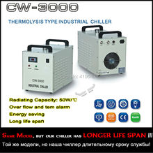 CW-3000 Chiler For the Engrave machine Glass tube Metal laser Generator Spindle High Eficiency over-tem alarm Automaic Running
