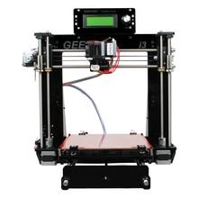 Geeetech 3D Printer Reprap i3 Pro B DIY Kit GT2560 Main Board LCD2004 5 Materials Support 2016 Newest Upgraded