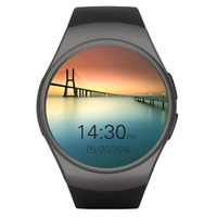 Original KW18 Full Round IPS Heart Rate Smart Watch MTK2502 BT4.0 Smartwatch for IOS and Android For Samsung Intelligent Watch