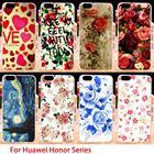 TAOYUNXI Phone Case For Huawei GR5 Honor4X Honor 4X Play 5X 7I shot x Honor7I Mate 7 Mini KIW-TL00 Cover Flowers Deer Skin Bags