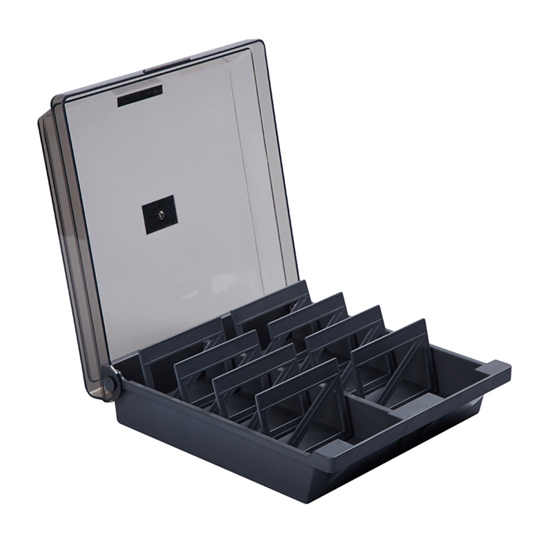 Large Capacity Business Card Organizer File Name Card Case Holder Card Storage Box Organizer Office Business Card Holder(China)