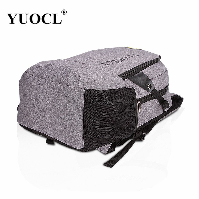 FTFTFTF Men and Women Retro Style Fashion Multi-Functional Student Bag Shoulder Diagonal Portable Backpack