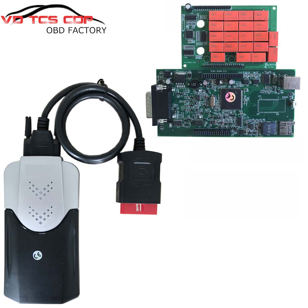 2018 Newest Green PCB with nec Japan relay 2015.3 R3/ 2016.00 R0 VD TCS CDP pro plus with Bluetooth Auto Car Diagnosis Equipment-in Car Diagnostic Cables & Connectors from Automobiles & Motorcycles    2