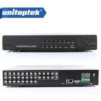 16Ch полный 960 H D1 DVR в реальном времени Запись воспроизведение с HDMI 1080 P Выход 16 каналов 16Ch Hybrid DVR NVR CCTV Onvif P2P облако