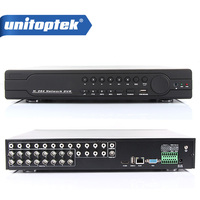 16Ch Full 960H D1 DVR Realtime Recording Playback With HDMI 1080P Output 16 Channel 16Ch Hybrid DVR NVR CCTV Onvif P2P Cloud