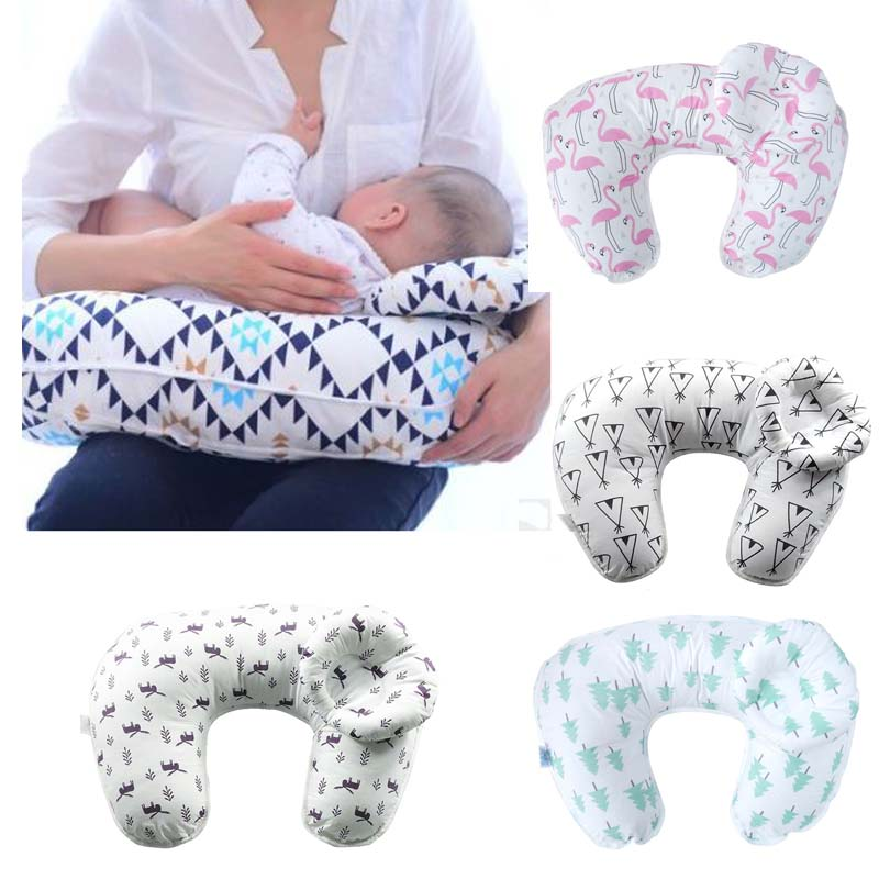 Breast Pillow Maternity Pillows Baby Breastfeeding Pillow Infant Cuddle U-Shaped Newbron Cotton Feeding Nursing Pillow baby nursing pillows soft infant baby safe u shaped pillow head neck support protection newbron cotton cushion 3pcs set