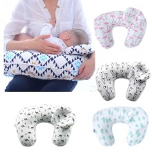 ФОТО Summitkids 2Pcs/Set Maternity Pillows Baby Breastfeeding Pillow Infant Cuddle U-Shaped bron Cotton Feeding Nursing Pillow