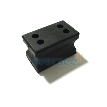 689-44557-00 mount RUBBER lower SIDE for Yamaha Power Parsun 2 stroke 25HP 30HP Outboard Engine 69P 61n