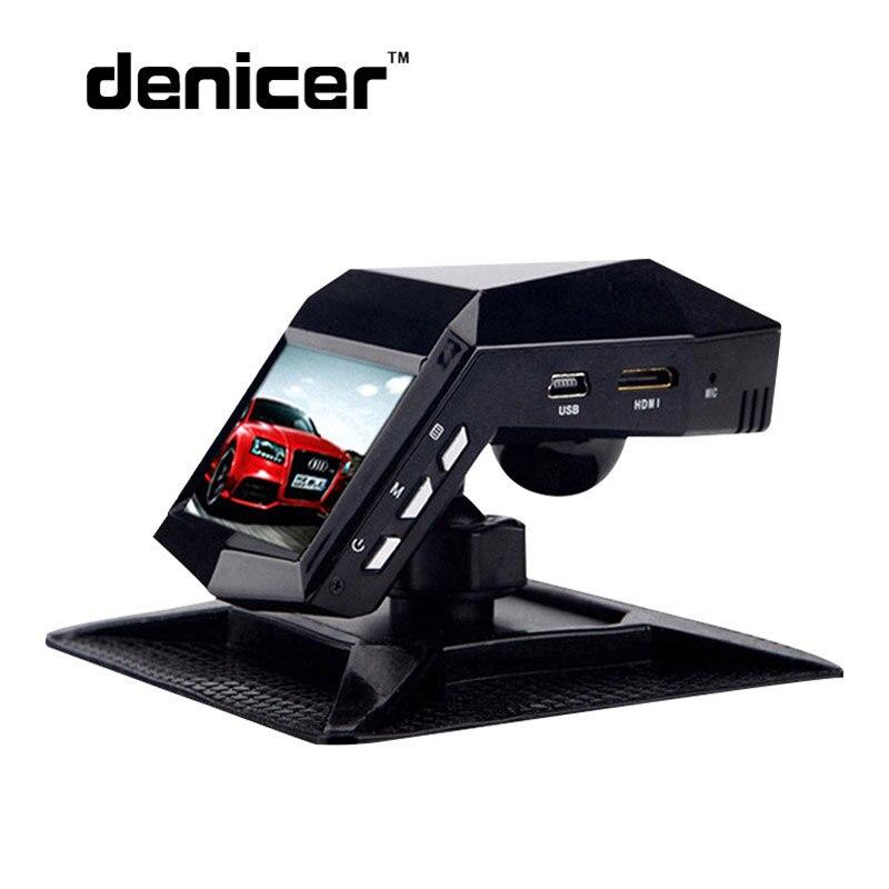 Denicer автомобиля Камера руководство Full HD 1080 P 30fps тире Камера 170 градусов Широкий формат HD DVR 2.0 дюймов Экран с g-сенсор Видеорегистраторы для автомобилей