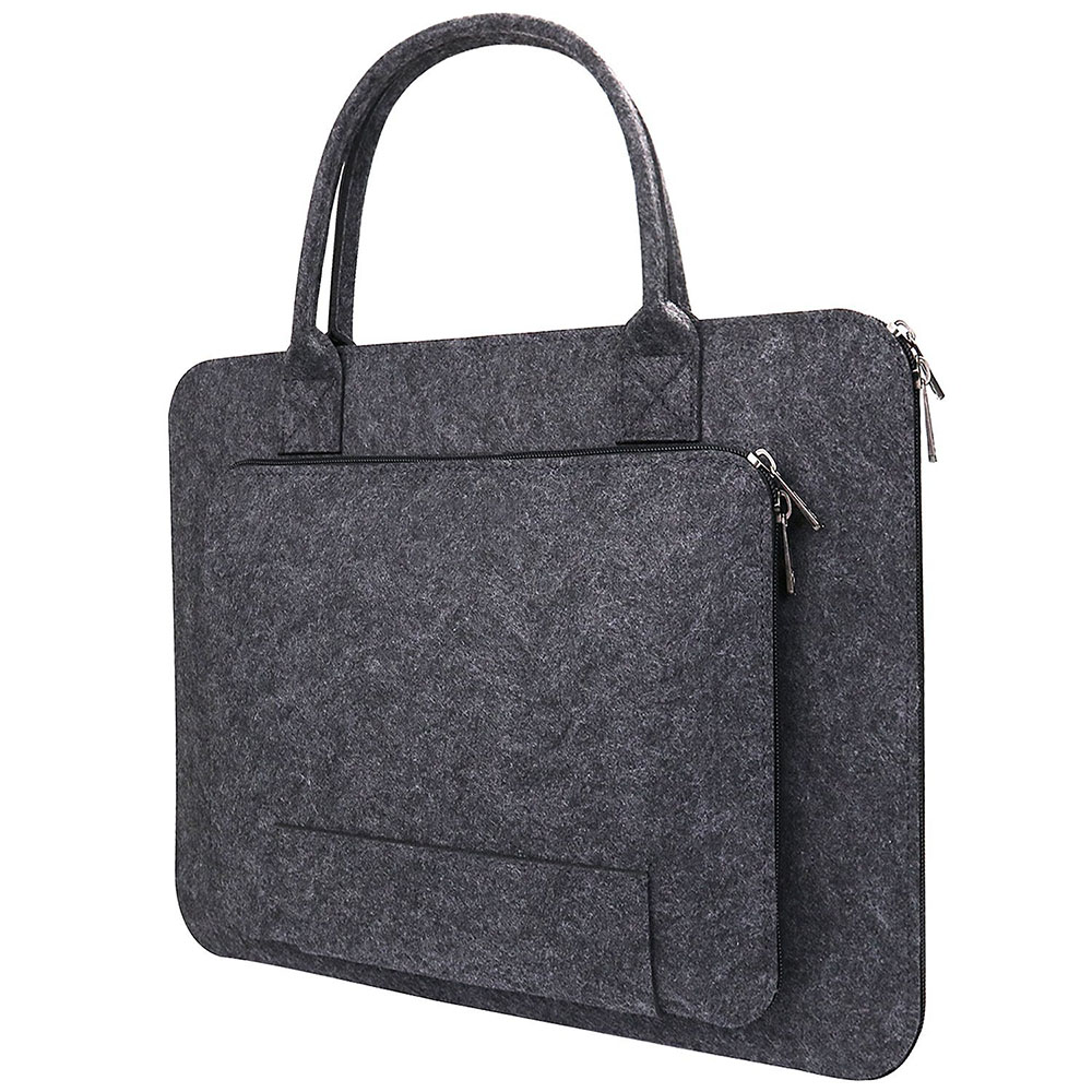 11/13/15.6/17 Inch Laptop Bag, Felt Laptop Sleeve Notebook Computer Case Carrying Bag Pouch With Handle For  Asus / Lenovo