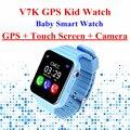 V7K смартфон Ребенка Часы Дети GPS Smartwatch С Сенсорным Экраном с Камерой SOS Расположение Устройства Трекер Малыш Сейф Анти-Потерянный q90 Q100