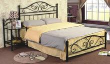 European high-grade iron bed princess Korean American country retro rural single steel bed Double