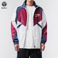 Thin Coat Loose Jacket Hip Hop Casual Track Jackets Men 2019 Spring Full Zip Up Loose Jacket Coats Fashion Male Streetwear