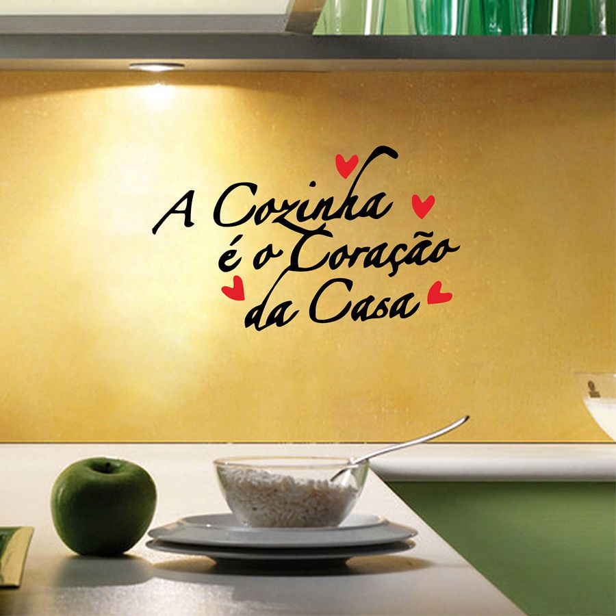 Portuguese Version Kitchen Vinyl Wall Sticker European Style Wall ...