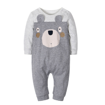 Newborn 6-24M baby boys 2019 spring baby Rompers soft Baby girls romper Cotton Baby Jumpsuit for kids boys Costumes 3pcs lot 2017 spring baby rompers newborn baby boys girls clothes infant girls boys jumpsuit little kids cotton soft overall