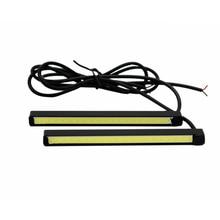 2 шт./компл. sunkia высокая яркая УДАРА DRL LED 10 см днем Бег Авто Туман Лампа COB свет 100% Водонепроницаемый бесплатная доставка