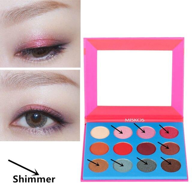 Online Shop Red Eyeshadow Palette Matte Eye Shadow Makeup Eye Shadow