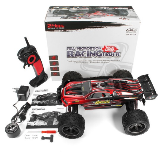 GPTOYS S912 RC Car Wireless 2.4G Truck off-Road Racing Car 1:12 Scale Electric Cars hongnor ofna x3e rtr 1 8 scale rc dune buggy cars electric off road w tenshock motor free shipping