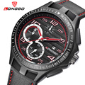 LONGBO Luxo Genuínos Homens de Couro Relógio de Quartzo Esportes Relógios Para Homens Lazer Macho Relógio Militar Assista Relogio masculino 80200