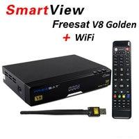 Original V8 Golden Powervu IPTV Box V8 Golden Dvb T2 S2 C Upgraded V8 Pro Combo