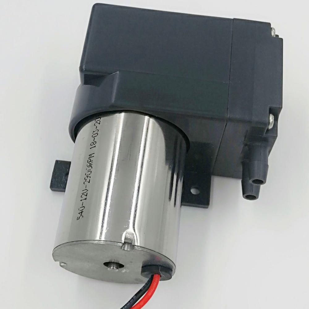 80kpa Vacuum 16L/M Diaphragm Electric 12v Dc Brushless Pump