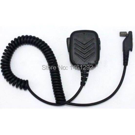 imágenes para SECUDA Handheld/Hombro Micrófono con Altavoz para Radios Icom IC F3161 F4161 T/S