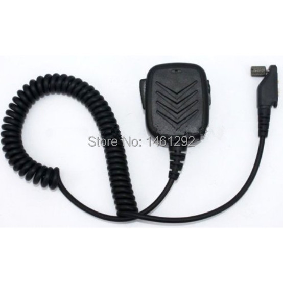 bilder für SECUDA Handheld/Schulter Mic mit Lautsprecher für Icom Funkgeräte IC F3161 F4161 T/S