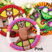 Popular Pet Toys Fat Cats Cartoon Frisbee Molar Tooth Cleaning Dog Toys Cat Toys, Pet Supplies UFO Toys 3 Color